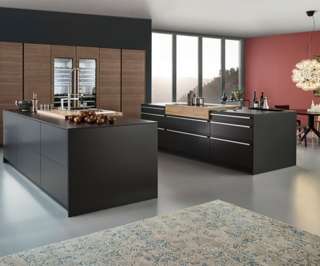 cuisine style contemporaine d me vanadia. Black Bedroom Furniture Sets. Home Design Ideas